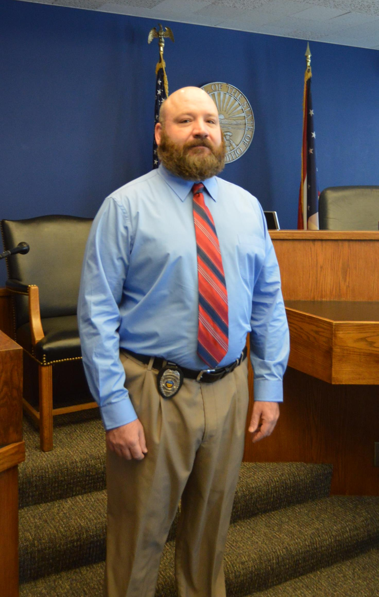 Probation Officer Matt Esterle